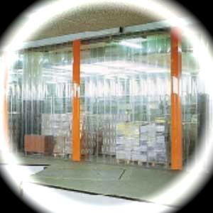 Porte a strisce in PVC - STRIP